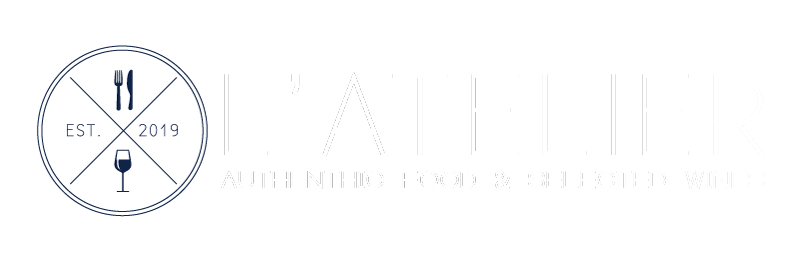 L'Atelier Restaurant Grand Gaube Île Maurice logo - Authentic food selected wines
