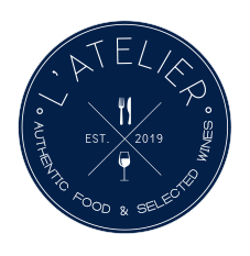 L'atelier - authentic food and selected wines Grand Gaube Mauritius - Logo