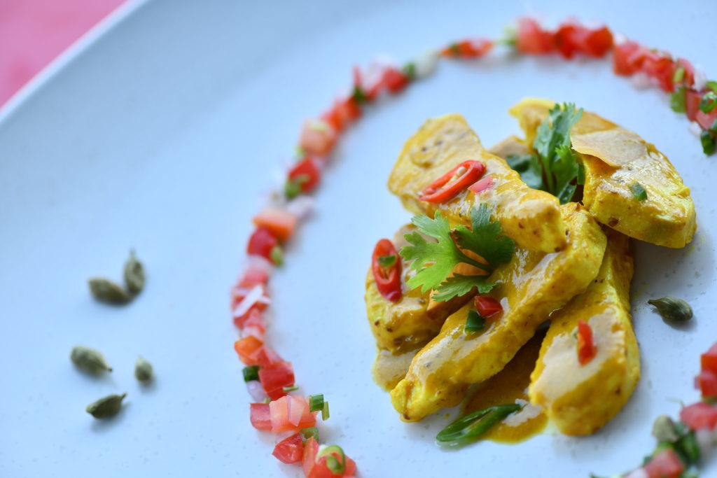Atelier Restaurant Grand Gaube Cuisine Plat