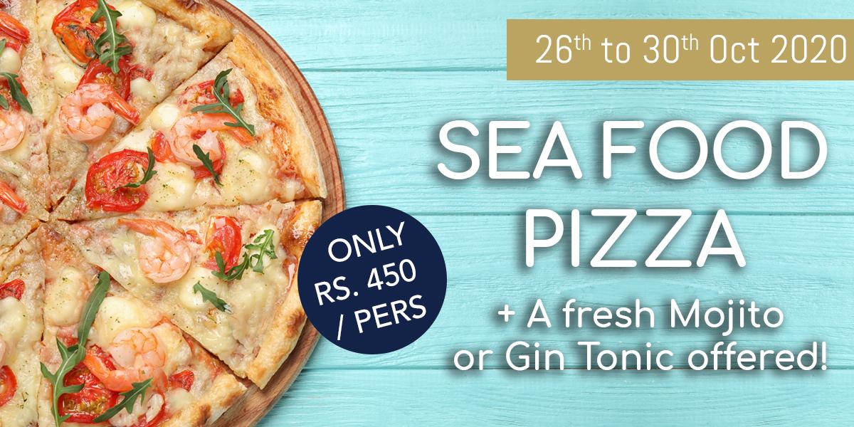 Seafood Pizza Promo